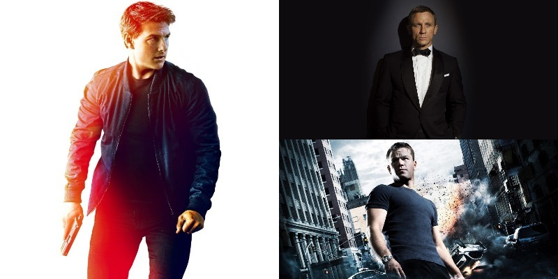 Quem é o melhor agente secreto do cinema atual: Ethan Hunt x Bourne x Bond?