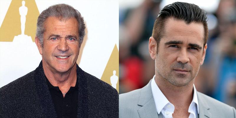 Mel Gibson e Colin Farrell estarão juntos filme de ação sobre a Segunda Guerra