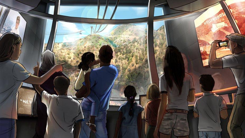 Projeto da Warner pretende construir teleférico até letreiro de Hollywood