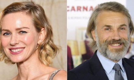Naomi Watts e Christoph Waltz serão jurados do Festival de Veneza 2018