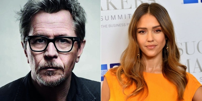 Gary Oldman e Jessica Alba serão protagonistas do suspense 'Killers Anonymous'