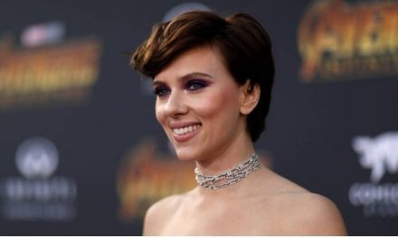 Scarlett Johansson é a atriz mais bem paga do cinema mundial
