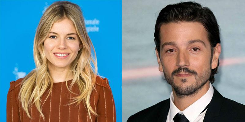 Sienna Miller e Diego Luna serão par romântico de 'Wander Darkly'