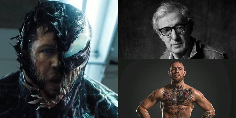 'Venom': Woody Allen e Conor McGregor inspiraram Tom Hardy