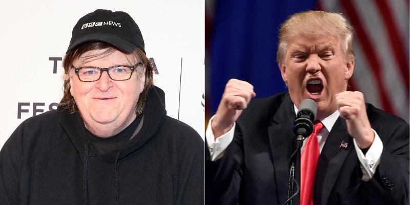 Michael Moore compara Donald Trump a Hitler em novo documentário