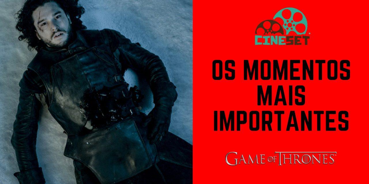 Especial 'Game of Thrones': quais foram os momentos mais significativos da série?