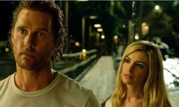 Suspense com Matthew McConaughey e Anne Hathaway estreia em Manaus