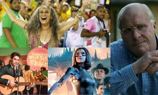 'Vice', 'Alita', Erasmo Carlos e Maria Bethânia são atrações nos cinemas de Manaus