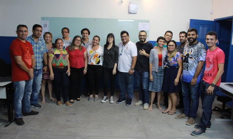 Galeria de Fotos: Oficina Cine Set na Escola Municipal Samuel Benchimol