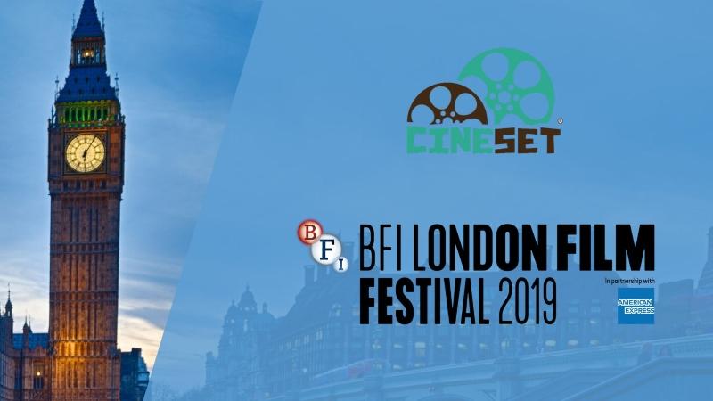 Vem aí: Cine Set realiza a cobertura do Festival de Londres 2019