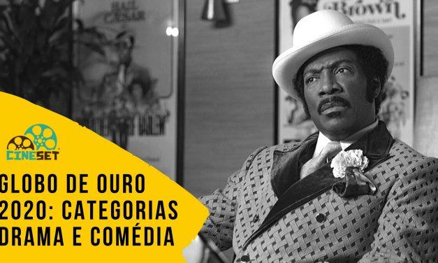 Globo de Ouro 2020: a Divisão dos Candidatos em Drama e Comédia