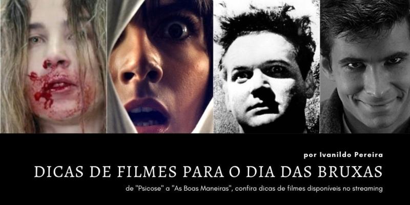 Dicas imperdíveis de Filmes de Terror para o Dia das Bruxas