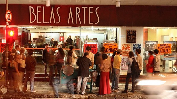 belas artes a esquina do cinema