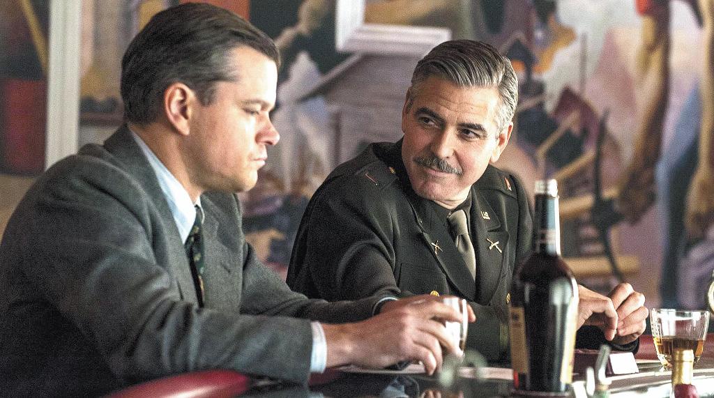 Drama de guerra de George Clooney chega aos cinemas