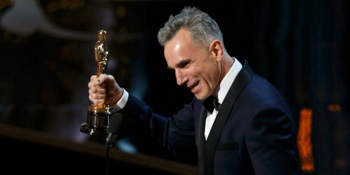 Daniel Day-Lewis ensina Tom Hanks