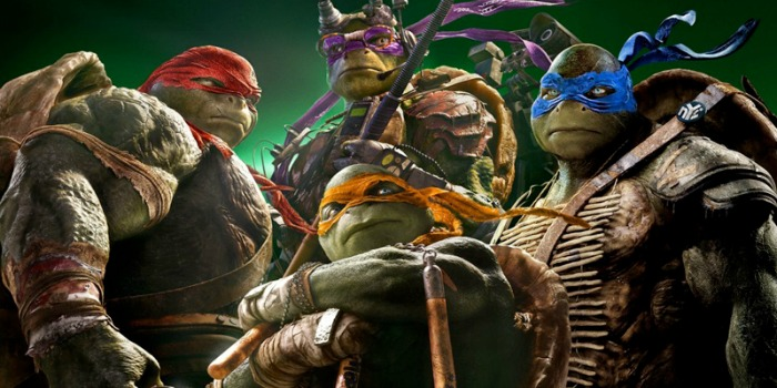 As Tartarugas Ninja, com Megan Fox