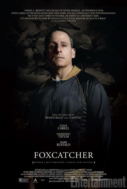 Novo pôster de Foxcatcher traz Steve Carrell irreconhecível