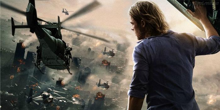 Guerra Mundial Z, com Brad Pitt