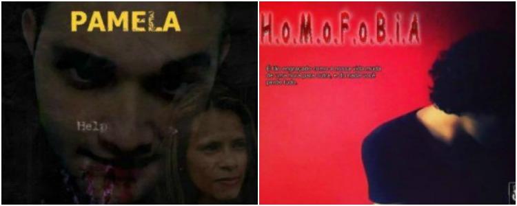 """Pamela"" e ""H.O.M.O.F.O.B.I.A"", de Tony Lee Jr."