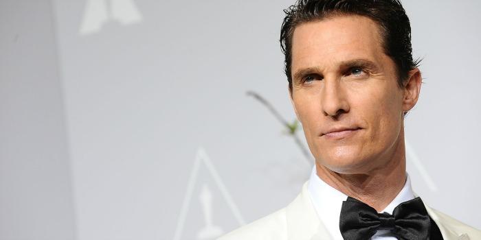Matthew McConaughey acerta participação em drama sobre a Guerra Civil dos EUA