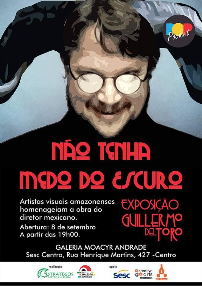Guillermo Del Toro inspira exposição artística em Manaus