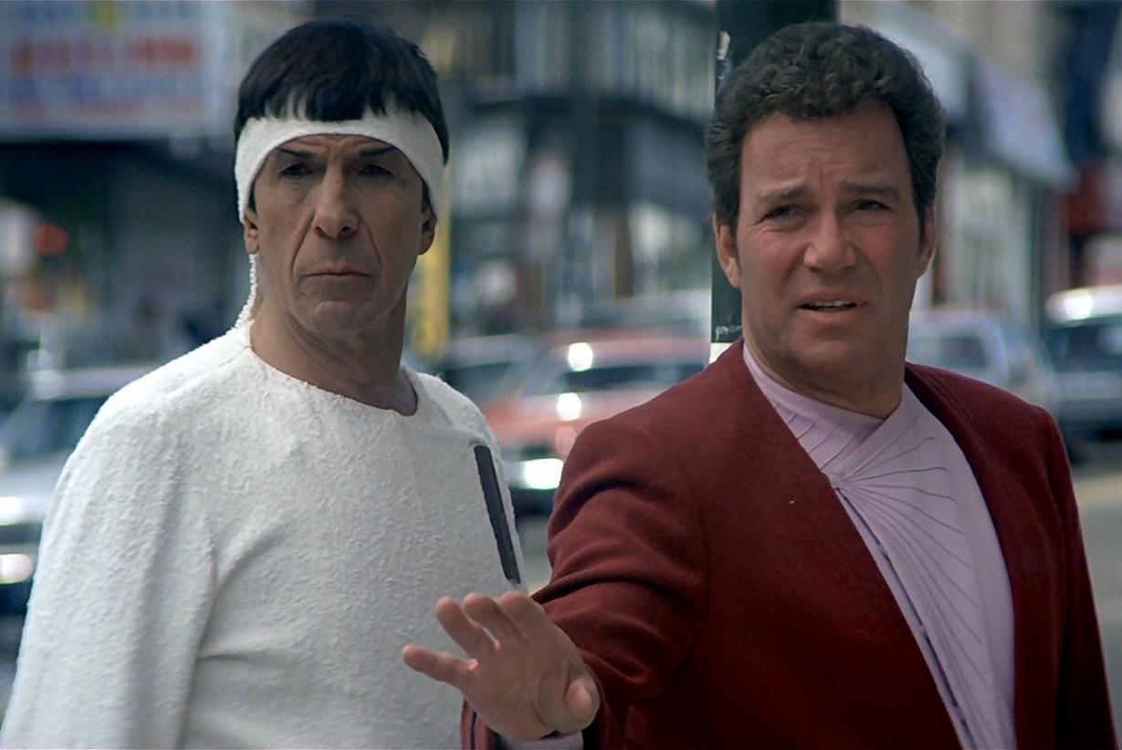William Shatner e Leonard Nimoy de volta como Kirk e Spock em Star Trek 3?