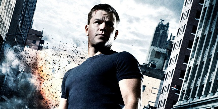 Matt Damon como Jason Bourne