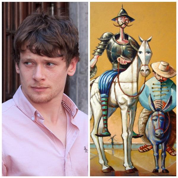 Jack O'Connell será protagonista na versão de Dom Quixote dirigida por Terry Gilliam