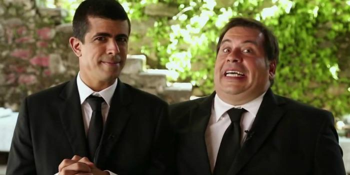 Os Caras de Pau em O Misterioso Roubo do Anel, com Leandro Hassum e Marcius Melhem