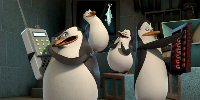 Os Pinguins de Madagascar segue na liderança das bilheterias no Brasil