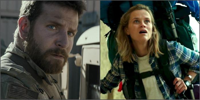 Pesquisa aponta Bradley Cooper e Reese Witherspoon como favoritos ao Oscar de melhor ator