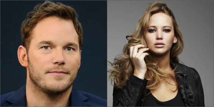 Jennifer Lawrence e Chris Pratt estão muito perto de estrelar ficção científica