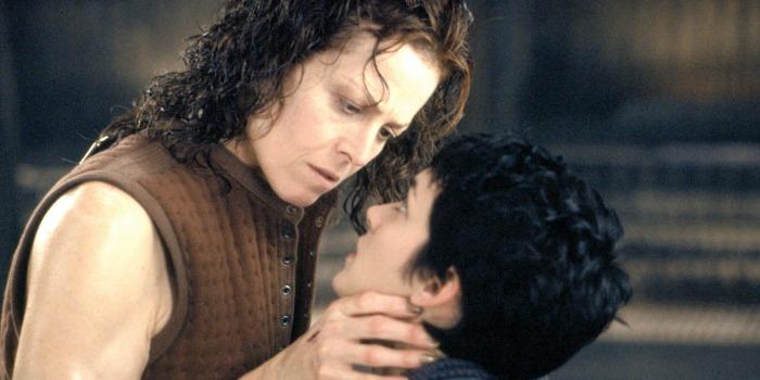 Alien: A Ressurreição, com Sigourney Weaver
