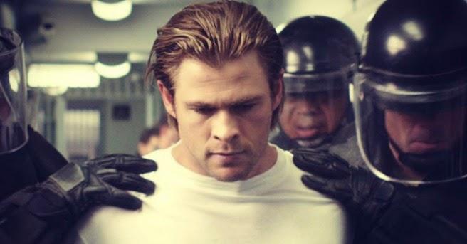Novo filme de Michael Mann com Chris Hemsworth não será lançado nos cinemas brasileiros