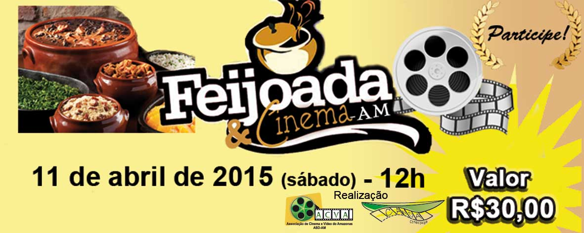 "ACVA do Amazonas promove evento ""Feijoada e Cinema"""