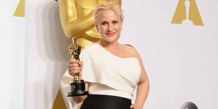 Patricia Arquette volta a pedir direitos iguais para homens e mulheres no cinema