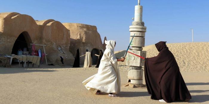 """Tunísia diz que cenários de """"Star Wars"""" estão a salvo do Estado Islâmico"""