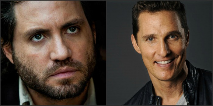 Édgar Ramírez estrela filme ao lado de Matthew McConaughey