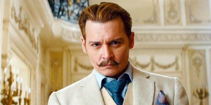 Mortdecai, com Johnny Depp