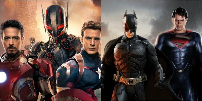 A Guerra Marvel X DC nos Cinemas – Os Vingadores X Batman e Superman