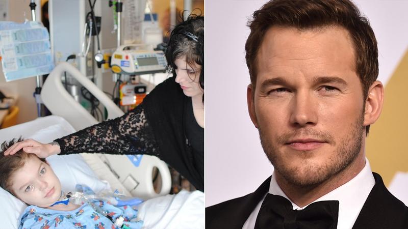 Chris Pratt ajuda a arrecadar dinheiro para menino com câncer