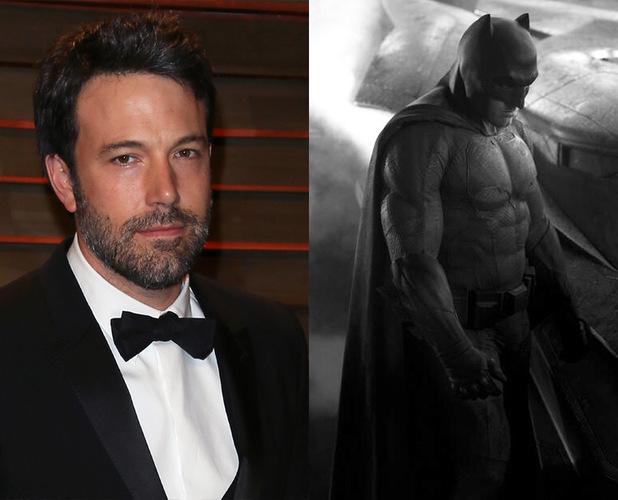 Divulgada primeira foto, em cores, do novo uniforme do Batman vivido por Ben Affleck