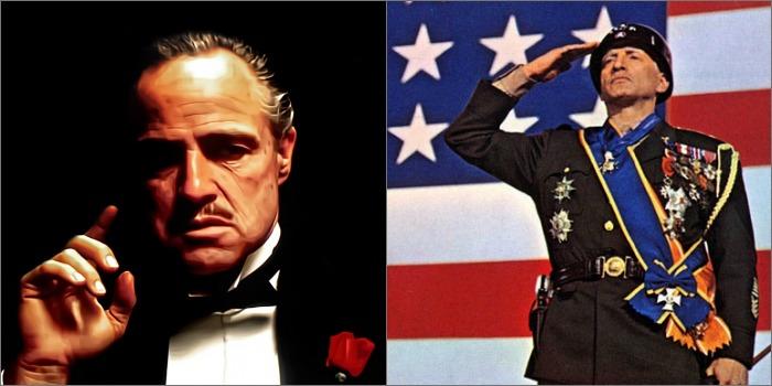 Desistências de Marlon Brando e George C. Scott no Oscar