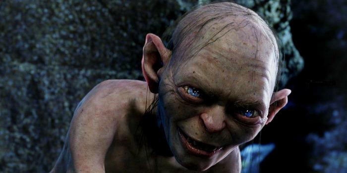 Gollum/Sméagol, vivido por Andy Serkis em O Senhor dos Anéis