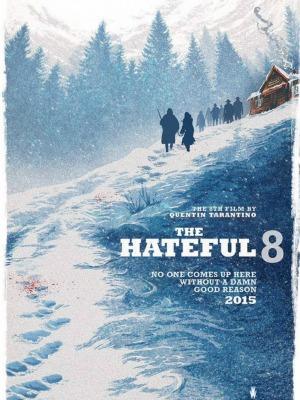 Pôster de The Hateful 8, de Quentin Tarantino
