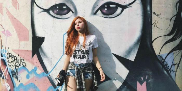 Mônica Aensland, do blog Garota Jedi