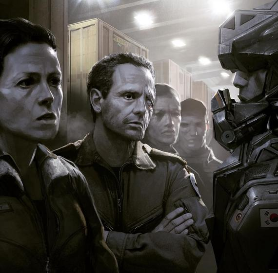 Arte conceitual do novo Alien, com Neill Blomkamp