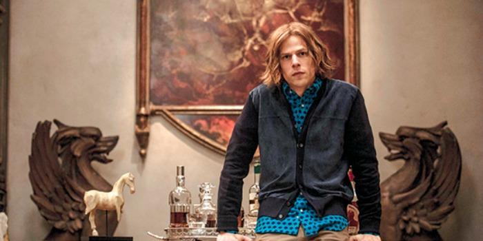 Warner confirma Jesse Eisenberg como Lex Luthor em 'Liga da Justiça'