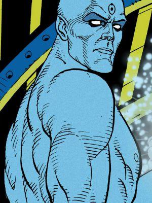 Dr. Manhattan, em Watchmen
