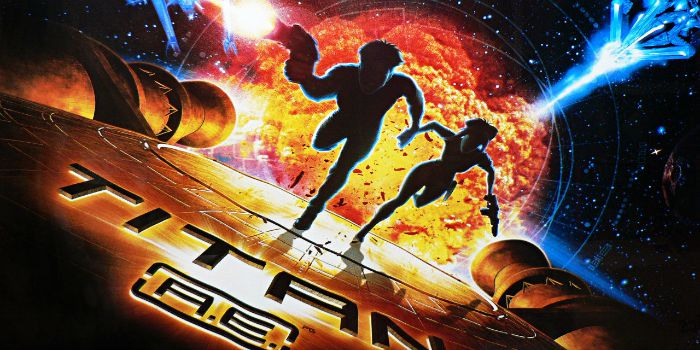 """""""Titan A.E."""" (2000), de Don Bluth"""